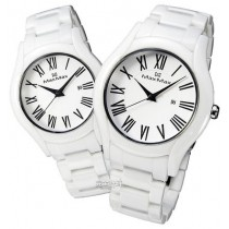 Max Co - White and Black Ceramic Watch