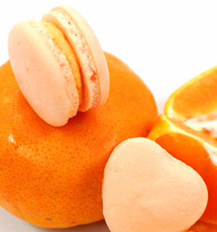 Orange Macaroon
